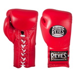 Cleto Reyes Lace-up Training Gloves Red - Bob's Fight Shop