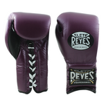 Cleto Reyes Lace-up Training Gloves Purple - Bob's Fight Shop