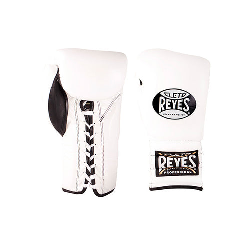 Cleto Reyes Lace-up Training Gloves White - Bob's Fight Shop