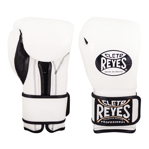 Cleto Reyes Velcro Training Gloves White - Bob's Fight Shop