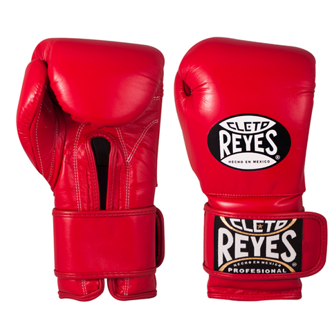 Cleto Reyes Velcro Training Gloves Red - Bob's Fight Shop