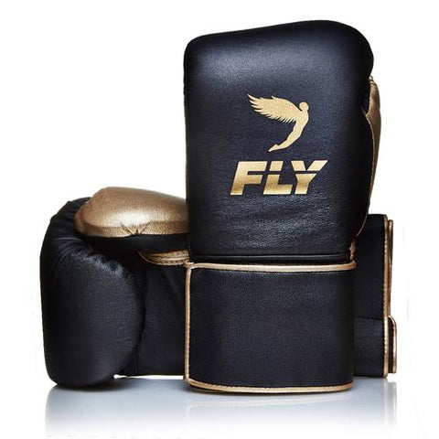 Fly Superloop Black/Gold - Bob's Fight Shop