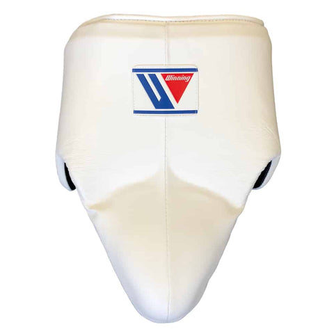 Winning Standard Cut Groin Protector- White - Bob's Fight Shop