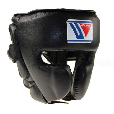Winning Cheek Protector Headgear Black - Bob's Fight Shop