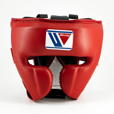 Winning Cheek Protector Headgear Red - Bob's Fight Shop