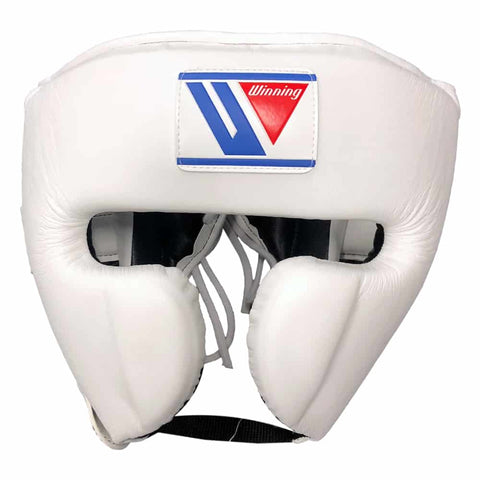 Winning Cheek Protector Headgear White - Bob's Fight Shop