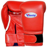 Winning Velcro Boxing Gloves Red - Bob's Fight Shop