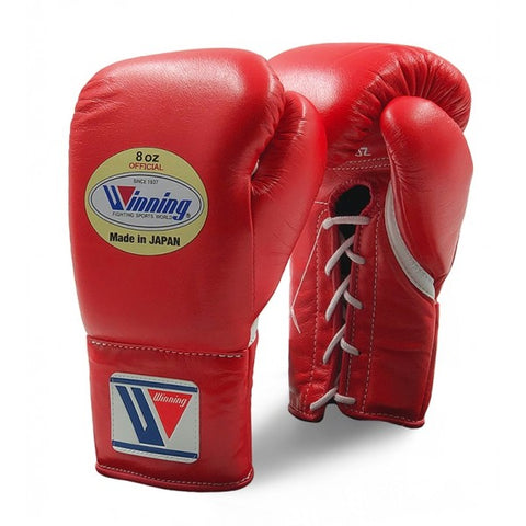 Winning Pro Fight Boxing Gloves Red - Bob's Fight Shop
