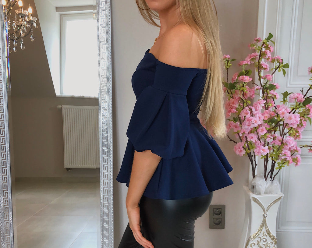 NEW - Arrive In Style Top Peplum