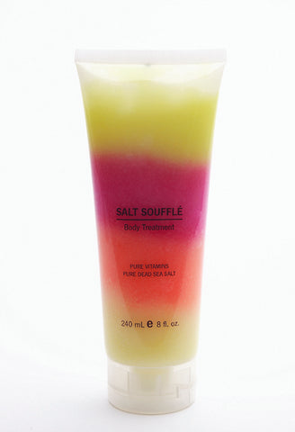 Rainbow Salt Soufflee