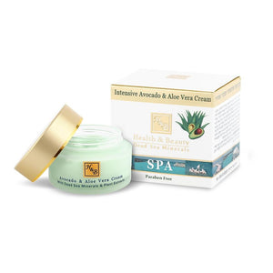 Intensiv Avocado und Aloe Vera Creme - Health & Beauty - Swisa Beauty