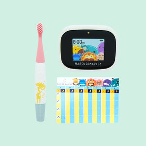 Kids Interactive Sonic Silicone Toothbrush 3+