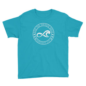 Boy's Surifnity Infinite Wave Stamp - Caribbean Blue