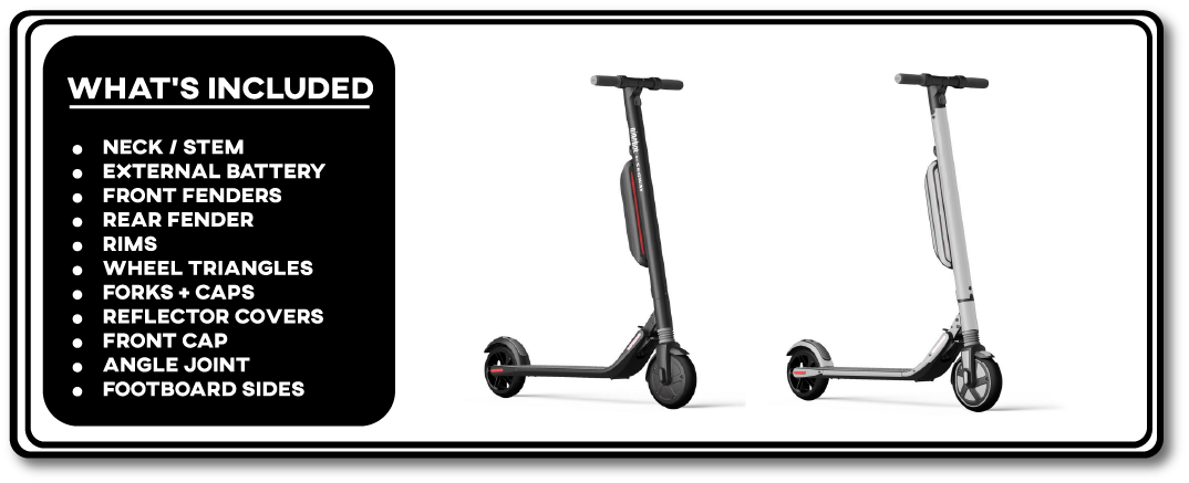 Segway Ninebot ES4 Full electric scooter wrap