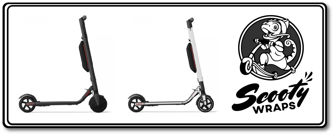 Segway Ninebot ES4 Half electric scooter wrap