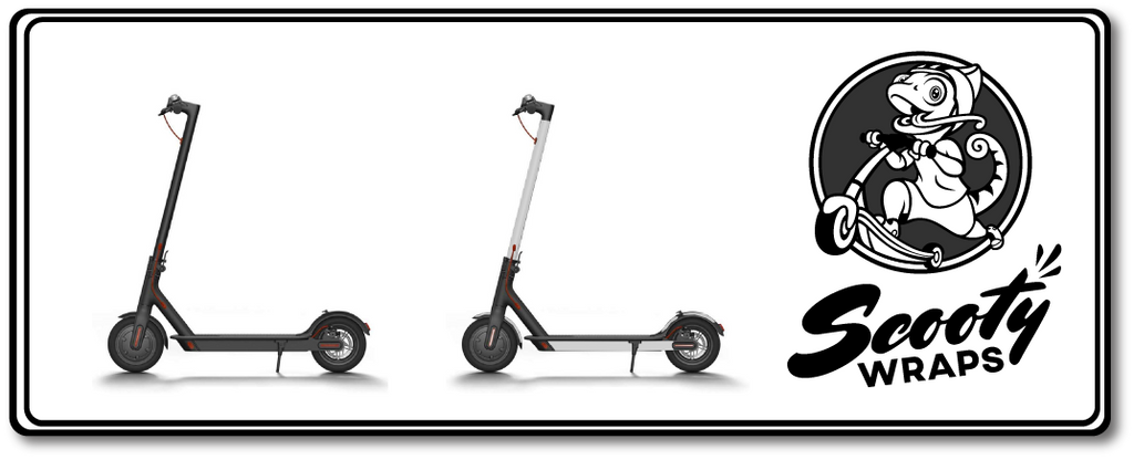Full electric scooter wrap for the Xiaomi m365