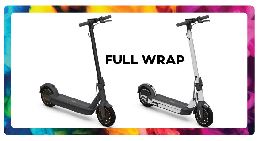 Segway Max G30 Full electric scooter wrap scooty wraps