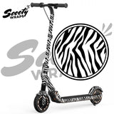 wraps for ninebot e12 electric scooter zebra