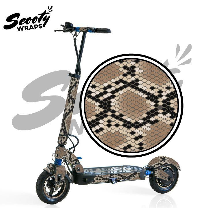 Apollo City scooter wrap snake