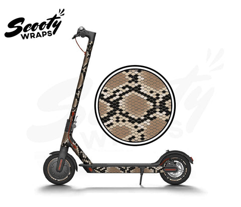Electric Scooter Wrap  Xiaomi M365 - Snake