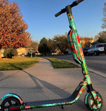 custom segway scooter wraps es4