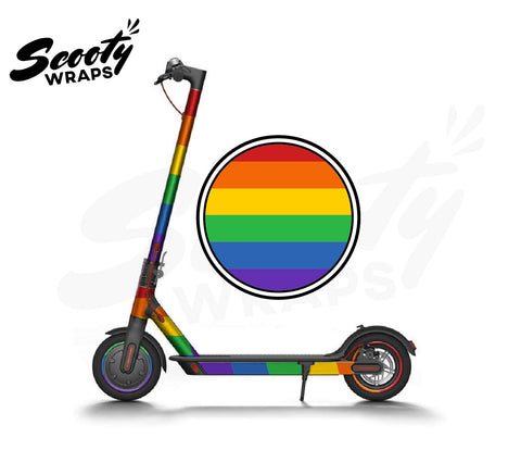 Electric Scooter Wrap  Xiaomi M365 - Rainbow Pride