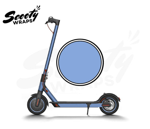 Electric Scooter Wrap  Xiaomi M365 - Baby Blue