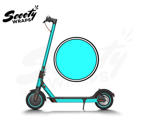Electric Scooter Wrap  Xiaomi M365 - Cyan