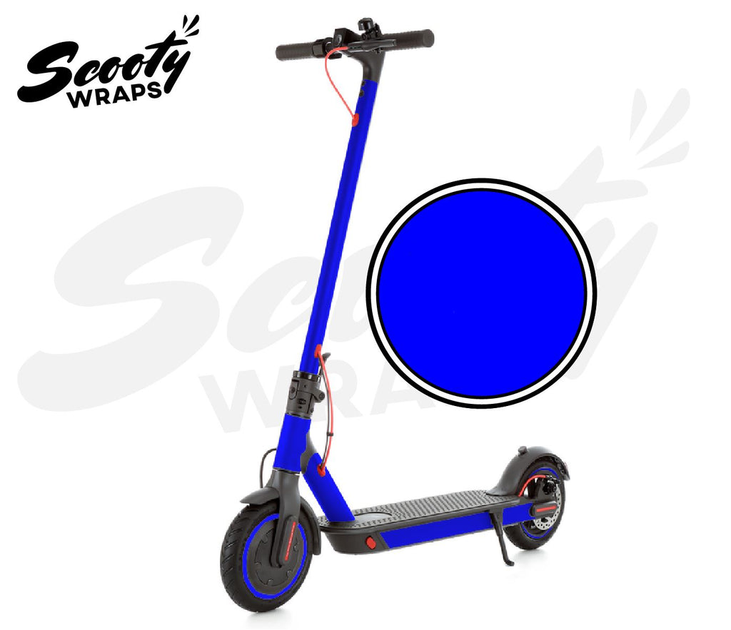 Electric Scooter Wrap  Xiaomi M365 Pro - Dark Blue