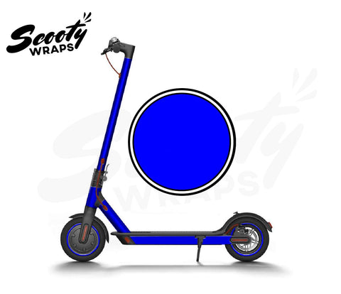 Electric Scooter Wrap  Xiaomi M365 - Dark Blue