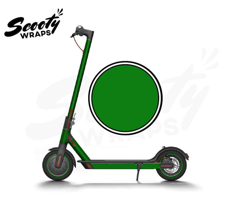 Electric Scooter Wrap  Xiaomi M365 - Dark Green