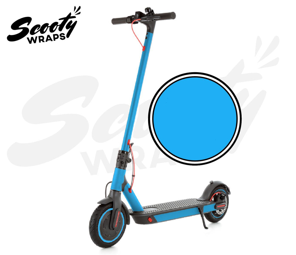 Electric Scooter Wrap  Xiaomi M365 Pro - Light Blue