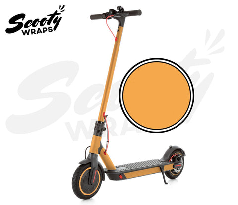 Electric Scooter Wrap  Xiaomi M365 Pro - Light Orange