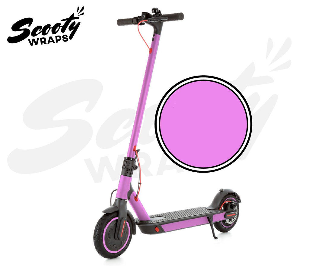 Electric Scooter Wrap  Xiaomi M365 Pro - Light Pink