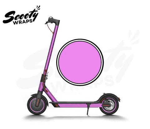 Electric Scooter Wrap  Xiaomi M365 - Light Pink