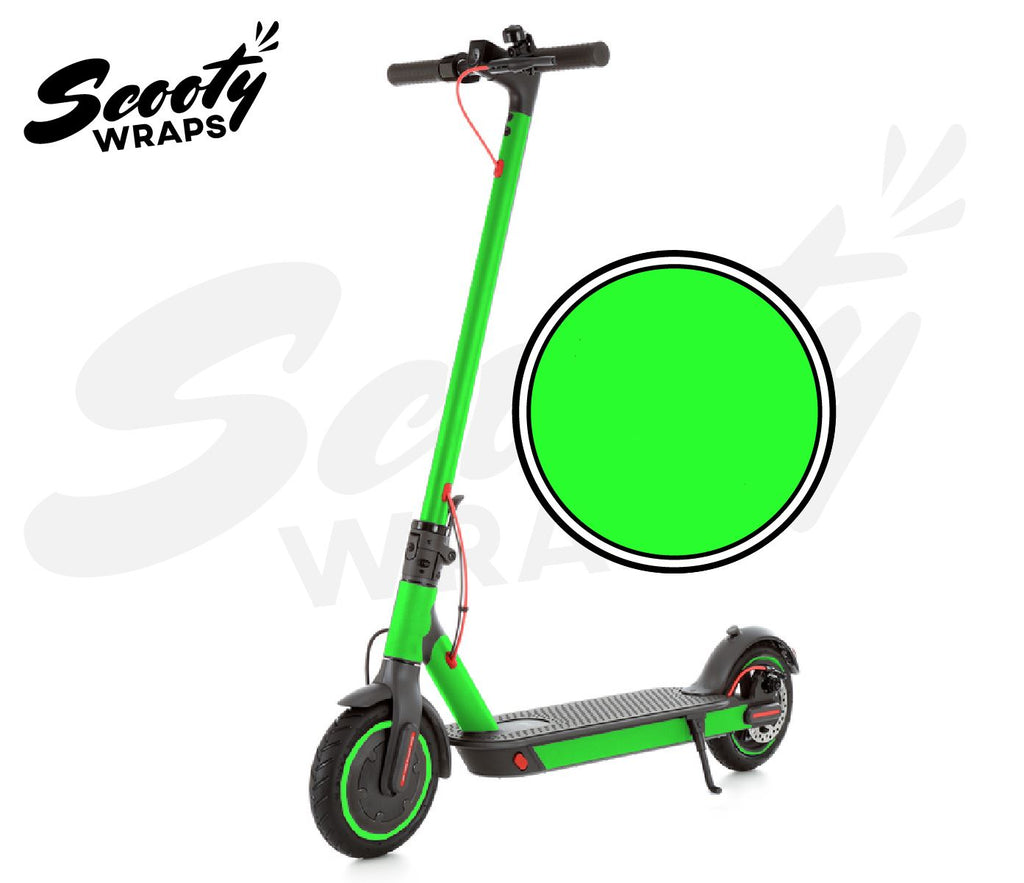 Electric Scooter Wrap  Xiaomi M365 Pro - Neon Green