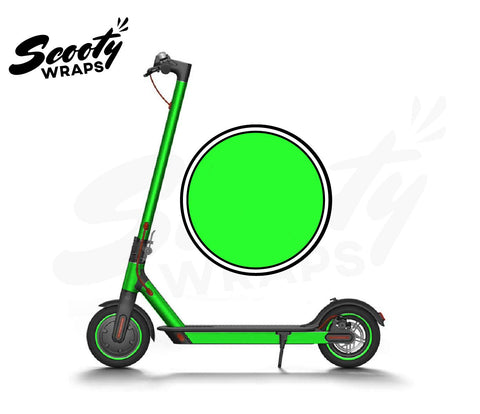Electric Scooter Wrap  Xiaomi M365 - Neon Green