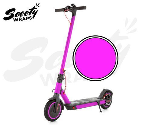 Electric Scooter Wrap  Xiaomi M365 Pro - Neon Pink