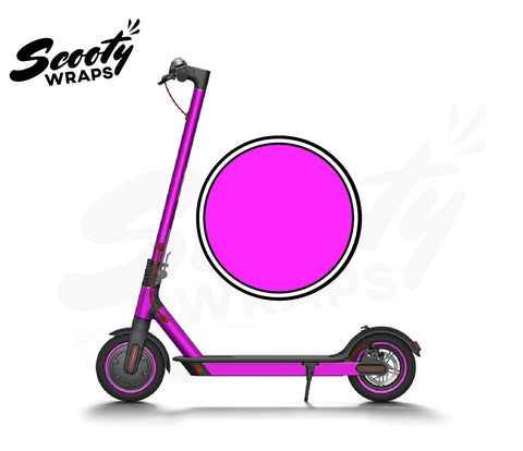 Electric Scooter Wrap  Xiaomi M365 - Neon Pink