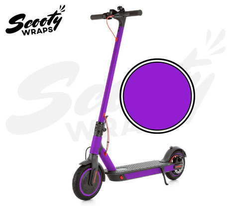 Electric Scooter Wrap  Xiaomi M365 Pro - Purple