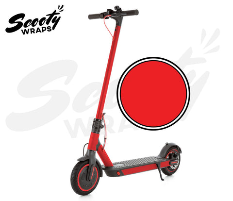 Electric Scooter Wrap  Xiaomi M365 Pro - Red