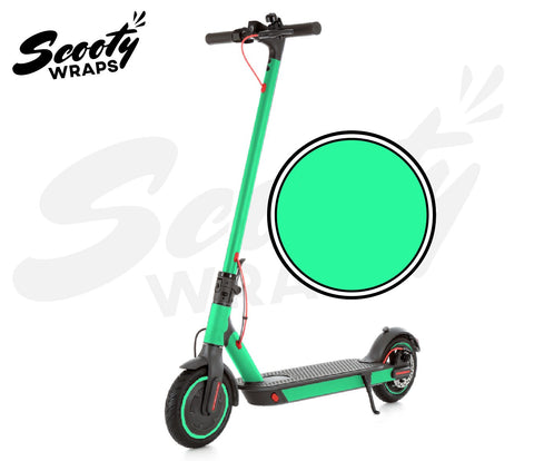 Electric Scooter Wrap  Xiaomi M365 Pro - Seafoam Green