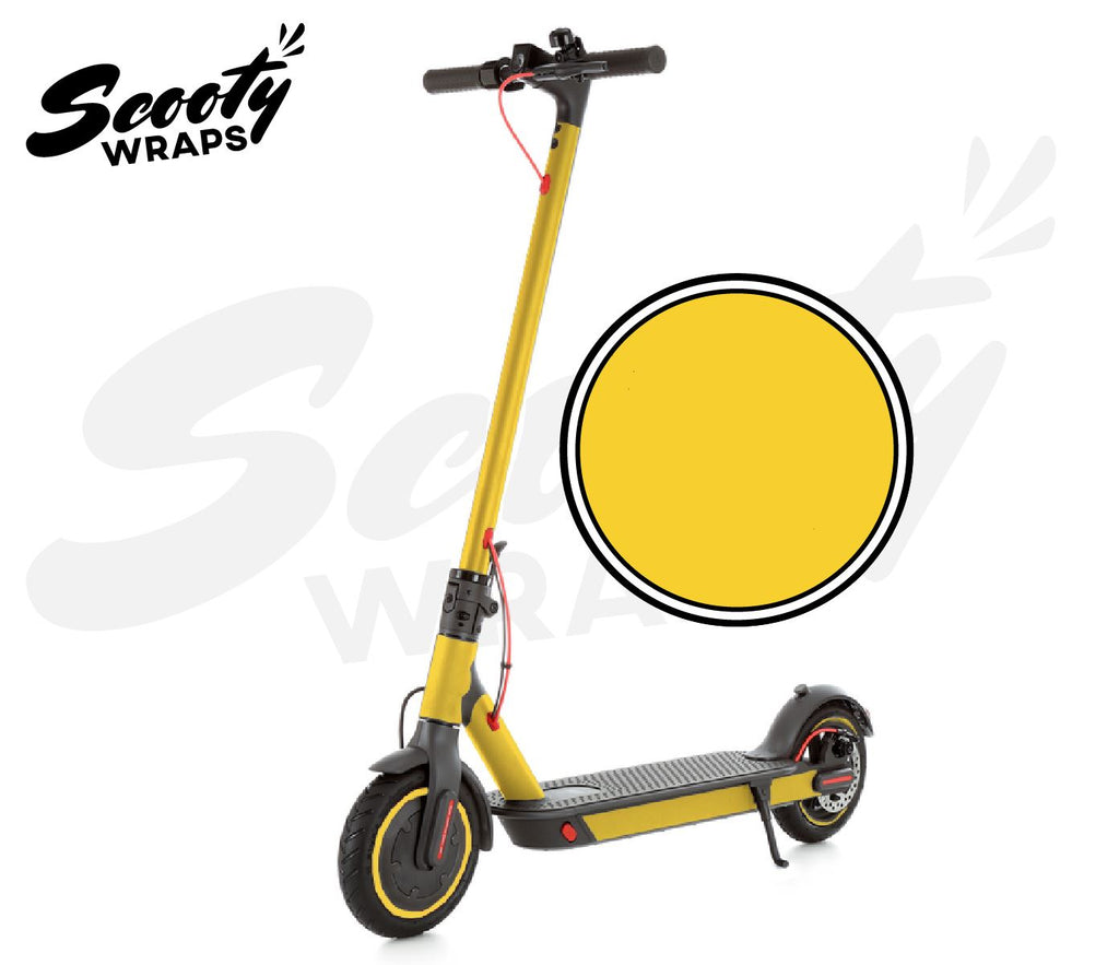Electric Scooter Wrap  Xiaomi M365 Pro - Yellow