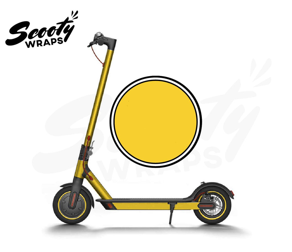 Electric Scooter Wrap  Xiaomi M365 - Yellow
