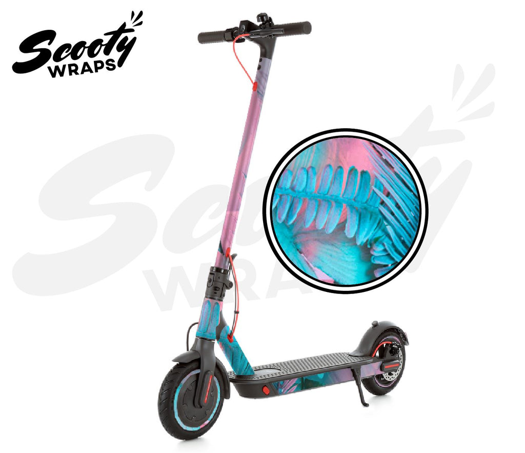 Electric Scooter Wrap  Xiaomi M365 Pro - Pink Tropical