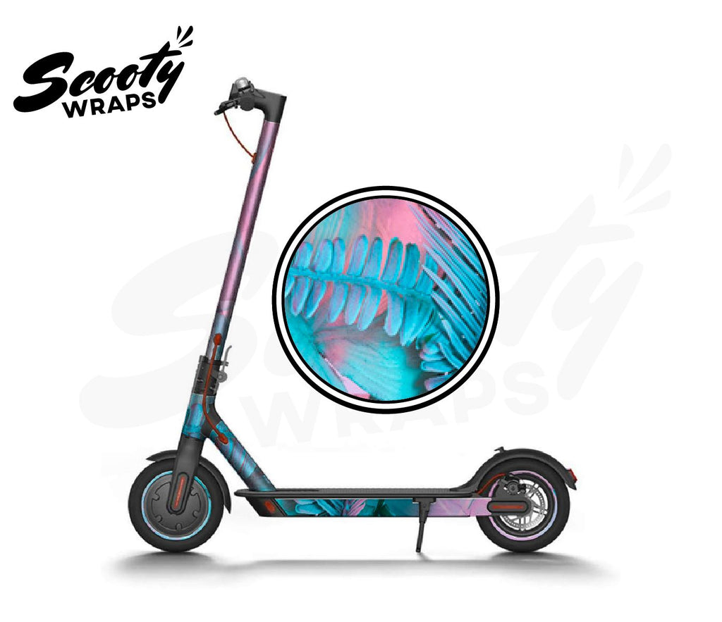 Electric Scooter Wrap  Xiaomi M365 - Pink Tropical