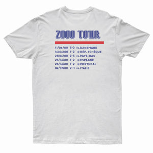 "T-Shirt ""France 2000"" On Tour blanc"