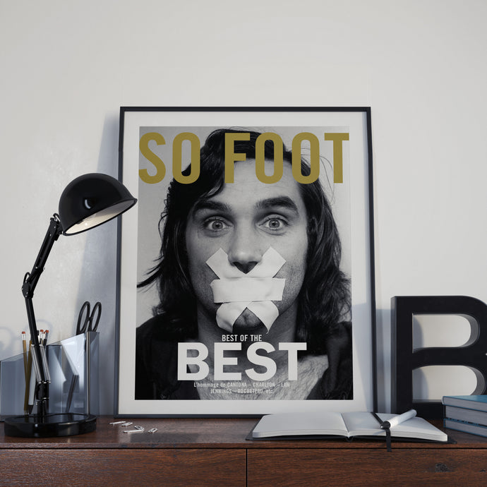 Affiche George Best, So Foot #29