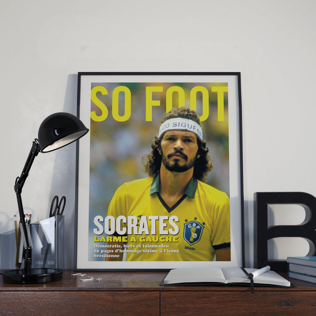 Affiche Socrates, So Foot #93