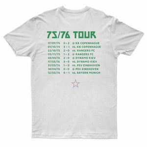T-Shirt « Sainté 76 » On Tour blanc